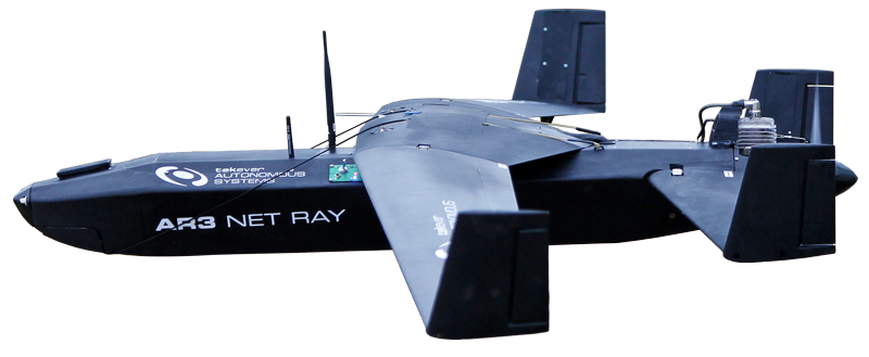 AR3 Net Ray Side View